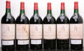 Red Bordeaux, Chateau Latour 1975 . 4ts, 2vhs, 6bsl, 1wasl, owc-partial lid.Magnum (6). ... (Total: 6 Mags. )