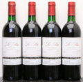 Red Bordeaux, Chateau Le Pin 1990 . Pomerol. 1bn, 1lnl. Bottle (4). ... (Total: 4 Btls. )