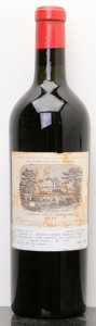 Red Bordeaux, Chateau Lafite Rothschild 1923 . Pauillac. bn, bsl. Bottle(1). ... (Total: 1 Btl. )