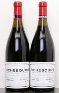 Red Burgundy, Richebourg 1992 . Domaine de la Romanee Conti . 1sos,#01862, 01863. Bottle (2). ... (Total: 2 Btls. )