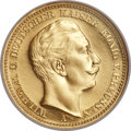 German States:Prussia, German States: Prussia. Wilhelm II Proof gold 20 Marks 1905A,...