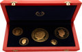 Chad, Chad: Republic gold Proof Set ND (1970),... (Total: 5 coins)