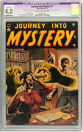 Golden Age (1938-1955):Horror, Journey Into Mystery #1 (Marvel, 1952) CGC Apparent VG 4.0 Slight(A) Cream to off-white pages....