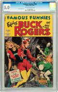 Golden Age (1938-1955):Science Fiction, Famous Funnies #209 (Eastern Color, 1953) CGC VG/FN 5.0 Off-white to white pages....