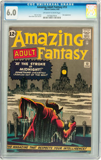 Amazing Adult Fantasy #13 (Marvel, 1962) CGC FN 6.0 Off-white to white pages
