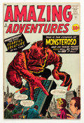 Silver Age (1956-1969):Horror, Amazing Adventures #5 (Marvel, 1961) Condition: Apparent VG....