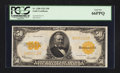 Large Size:Gold Certificates, Fr. 1200 $50 1922 Gold Certificate PCGS Gem New 66PPQ.. ...