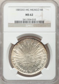 Mexico, Mexico: Republic 8 Reales 1883Do-MC, ...