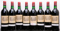 Red Bordeaux, Chateau Lafite Rothschild 1979 . Pauillac. 1bsl, 7hbsl,1-taped label, 1-cuc for verification. Bottle (8). ... (Total: 8Btls. )