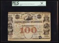 Large Size:Demand Notes, United States of America War Bounty Scrip $100 May 7, 1849 Hessler X117B. ...