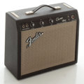 Musical Instruments:Amplifiers, PA, & Effects, Circa 1966 Fender Champ Blackface Guitar Amplifier, Serial#A10628....
