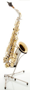 Musical Instruments:Horns & Wind Instruments, Keilwerth SX90 Silver Alto Saxophone, Serial #109879....