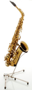 Musical Instruments:Horns & Wind Instruments, Circa 1959 Buffet Super Dynaction Brass Alto Saxophone, Serial #6108....