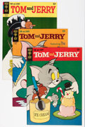 Silver Age (1956-1969):Cartoon Character, Tom and Jerry File Copies Group (Gold Key, 1964-80) Condition: Average VF+.... (Total: 68 Comic Books)