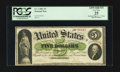 Large Size:Demand Notes, Fr. 2 $5 1861 Demand Note PCGS Apparent Very Fine 25.. ...