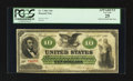 Large Size:Demand Notes, Fr. 7 $10 1861 Demand Note PCGS Apparent Very Fine 25.. ...