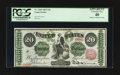 Large Size:Legal Tender Notes, Fr. 126b $20 1863 Legal Tender PCGS Apparent Extremely Fine 40.....