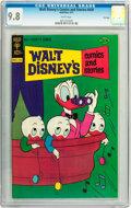Bronze Age (1970-1979):Cartoon Character, Walt Disney's Comics and Stories #439 File Copy (Gold Key, 1977)CGC NM/MT 9.8 White pages....