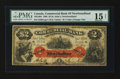 Canadian Currency: , Saint Johns, NF- Commercial Bank of Newfoundland $2 Jan. 3, 1888 Ch. # 185-18-04. ...