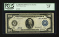 Large Size:Federal Reserve Notes, Fr. 1120* $100 1914 Federal Reserve Note PCGS Very Fine 25.. ...