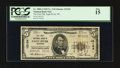 National Bank Notes:Wisconsin, Eagle River, WI - $5 1929 Ty. 2 The First NB Ch. # 12124. ...