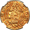 German States:Hamburg, German States: Hamburg. Free City gold Ducat 1648,...