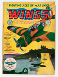 Golden Age (1938-1955):War, Wings Comics #1 (Fiction House, 1940) Condition: VG+....