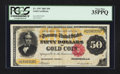 Large Size:Gold Certificates, Fr. 1197 $50 1882 Gold Certificate PCGS Very Fine 35PPQ.. ...