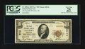 National Bank Notes:Oklahoma, Waurika, OK - $10 1929 Ty. 2 The First NB Ch. # 8744. ...