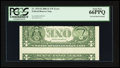 Error Notes:Inverted Reverses, Fr. 1933-H $1 2006 Federal Reserve Note. PCGS Gem New 66PPQ.. ...