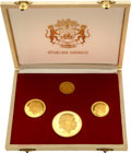 Gabon, Gabon: Republic gold Proof Set 1960,... (Total: 4 coins)