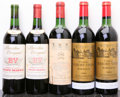 Red Bordeaux, Chateau Durfort Vivens . 1964 Margaux 2ts, 2nl, 1sdc Bottle(2). Chateau Mouton Rothschild . 1964 Pauillac... (Total: 5Btls. )