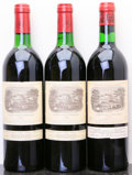 Red Bordeaux, Chateau Lafite Rothschild. Pauillac. 1979 Bottle (1). 19821bn, 1ts Bottle (2). ... (Total: 3 Btls. )