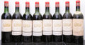 Red Bordeaux, Chateau Margaux 1959 . Margaux. 1hs, 5htms, 2ms, 4lbsl, 4bsl, 1sdc. Bottle (8). ... (Total: 8 Btls. )