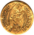 German States:Hamburg, German States: Hamburg. Free City gold Ducat 1643,...