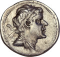 Ancients:Greek, Ancients: Eucratides I 'the Great' (ca. 170-145 BC). AR drachm(4.15 gm). ...