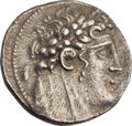 Ancients:Greek, Ancients: PHOENICIA. Tyre. Ca. 126/5 BC-65 AD. AR shekel (14.02gm). ...