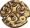 Ancients:Greek, Ancients: Corieltauvi. Uninscribed. Ca. 50 BC-AD 30. AV stater(5.62 gm). ...