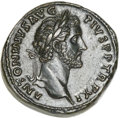 Ancients:Roman Imperial, Ancients: Antoninus Pius (AD 138-161). Orichalcum sestertius (26.11 gm). ...