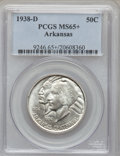 Commemorative Silver: , 1938-D 50C Arkansas MS65+ PCGS. PCGS Population (206/125). NGCCensus: (166/51). Mintage: 3,155. Numismedia Wsl. Price for ...