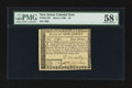 Colonial Notes:New Jersey, New Jersey June 9, 1780 $4 PMG Choice About Unc 58 EPQ.. ...
