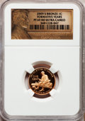 Proof Lincoln Cents, 2009-S 1C Formative Years, Bronze PR69 Red Ultra Cameo NGC. NGCCensus: (11794/1671). PCGS Population (4203/269). Numismed...