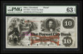 Obsoletes By State:Ohio, Cleveland, OH- The Forest City Bank $10 18__ Wolka 0732-15 G16aProof. ...