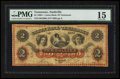 Obsoletes By State:Tennessee, Nashville, TN- The Union Bank of Tennessee $2 Aug. 1, 1862 G206a Garland 1026. ...