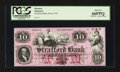 Obsoletes By State:New Hampshire, Dover, NH- The Strafford Bank $10 18__ UNL Special Proof. ...