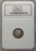 Barber Dimes: , 1894 10C MS64 NGC. NGC Census: (32/32). PCGS Population (35/27).Mintage: 1,330,972. Numismedia Wsl. Price for problem free...