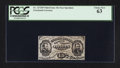 Fractional Currency:Third Issue, Fr. 1272SP 15¢ Third Issue Narrow Margin Face Specimen PCGS Choice New 63.. ...