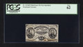 Fractional Currency:Third Issue, Fr. 1274SP 15¢ Third Issue Narrow Margin Face Specimen PCGS New 62.. ...