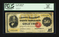Large Size:Gold Certificates, Fr. 1197 $50 1882 Gold Certificate PCGS Apparent Very Fine 25.. ...