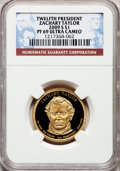 Proof Presidential Dollars, 2009-S $1 Zachary Taylor PR69 Ultra Cameo NGC. NGC Census: (0/0).PCGS Population (1306/227). Numismedia Wsl. Price for pr...